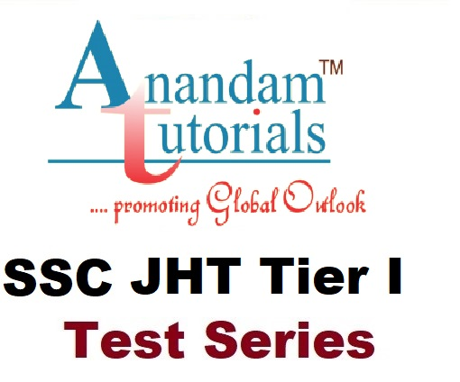 SSC JHT Paper 1 Online Test Series