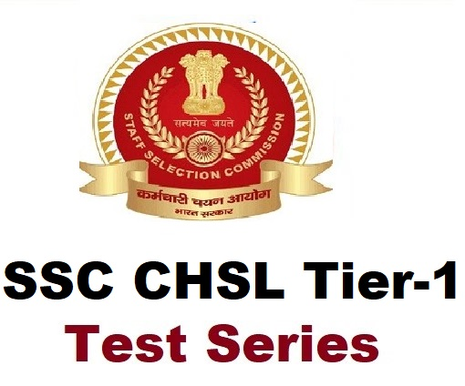 SSC CHSL Tier 1 Online Test Series by Tejaswi Classes